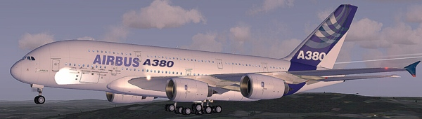 Flight Simulator software develop FSX FS2004: Start Airbus A380