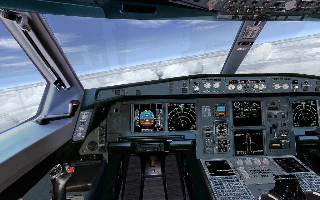 Flight Simulator software develop FSX FS2004: Start Airbus A380